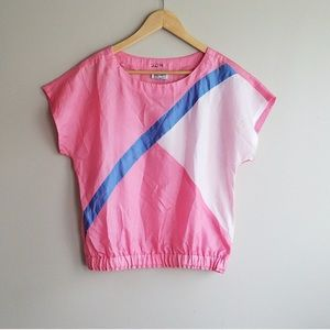 vintage neon windbreaker t shirt